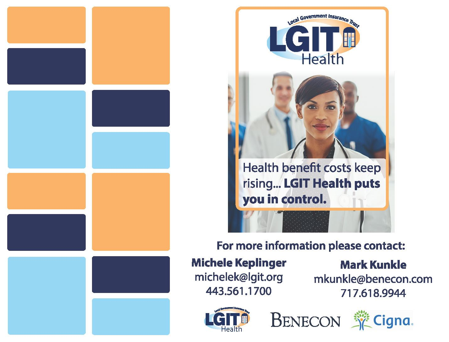 LGIT Health Exhibit Booth