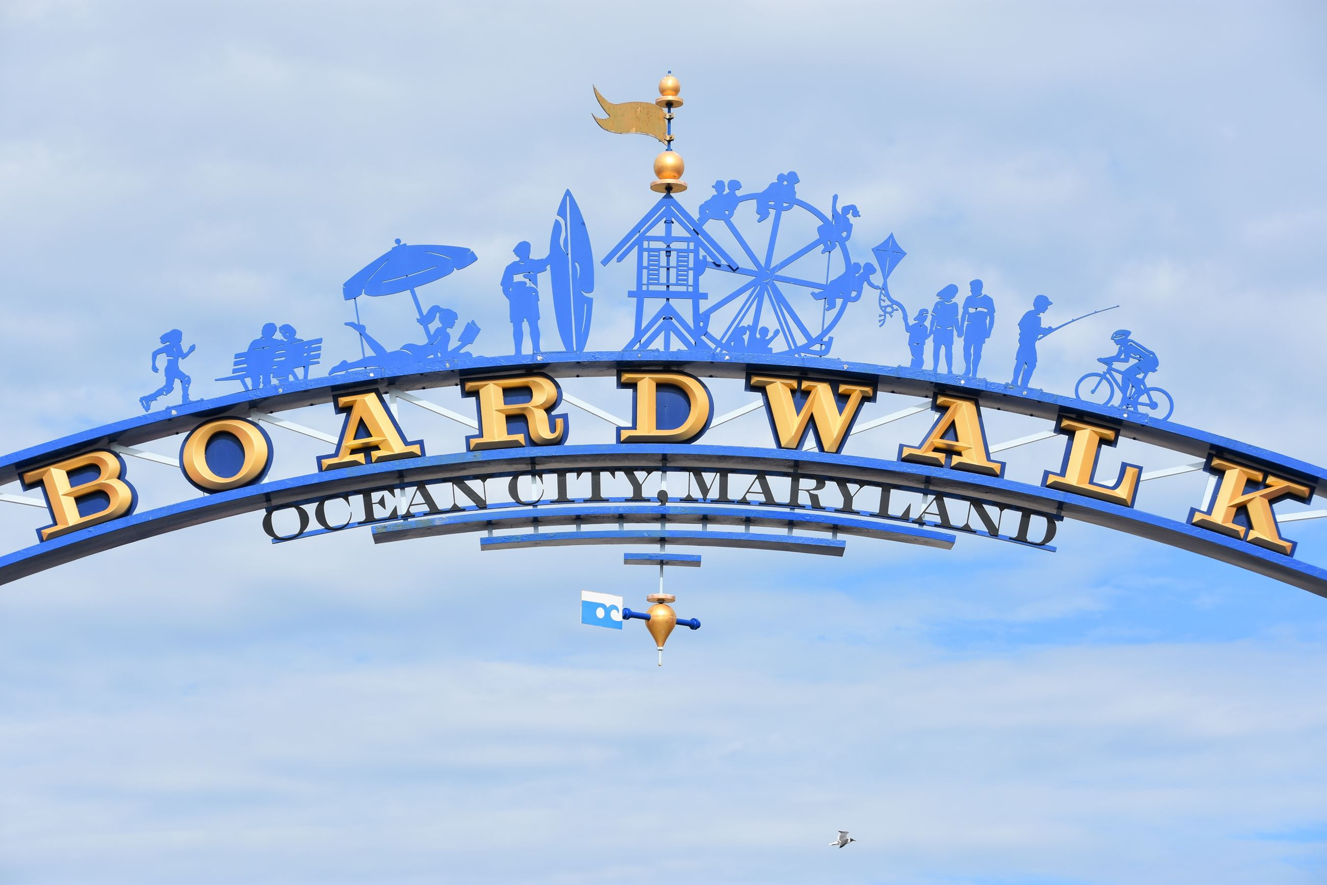 OC Boardwalk Sign