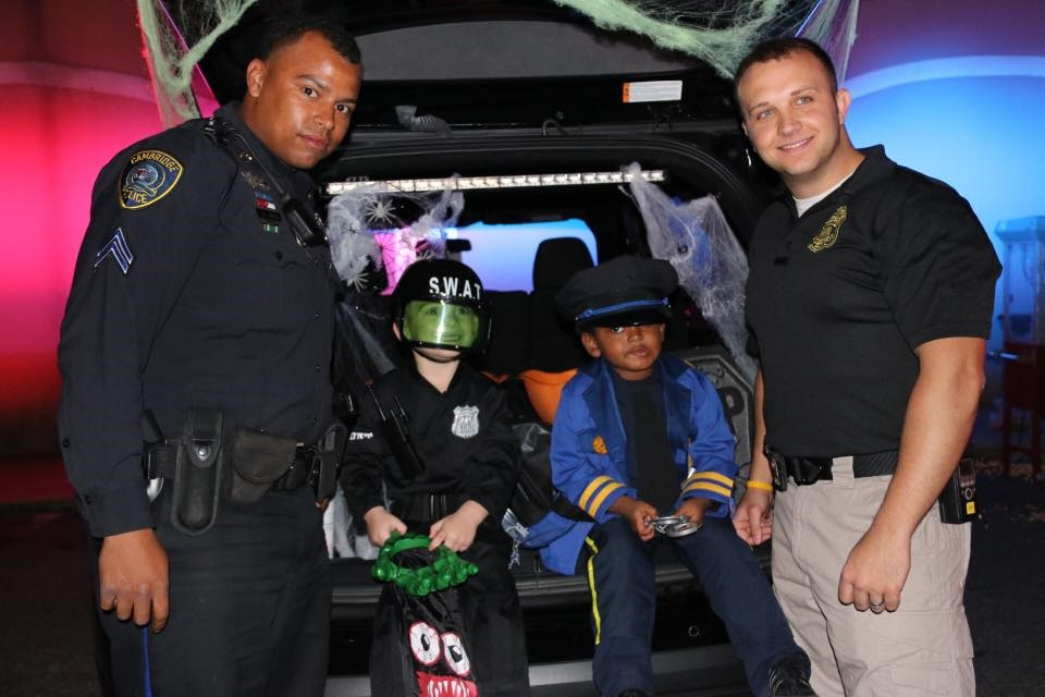 Cambridge Officers at Trunk or Treat