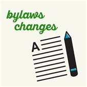 Bylaws Changes